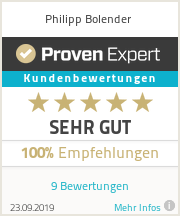 Erfahrungen & Bewertungen zu Philipp Bolender